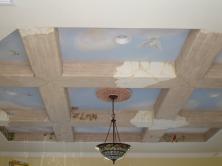 MR Birds ceiling Mural